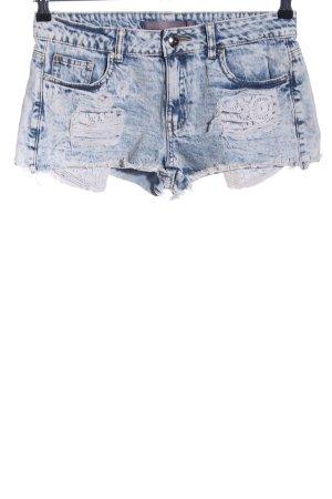 Boom boom Jeans Hot Pants blue street-fashion look