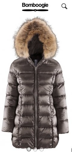 Bomboogie Down Jacket ocher