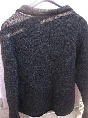 Boos Veste bavaroise gris foncé laine