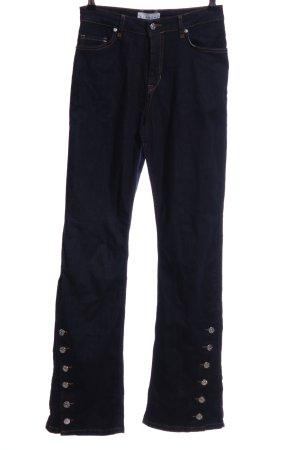 "Blanche Boot Cut Jeans ""Blanche"" dunkelblau"