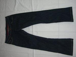 Cross Boot Cut Jeans dark blue cotton