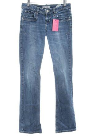 Boot Cut Jeans stahlblau Casual-Look
