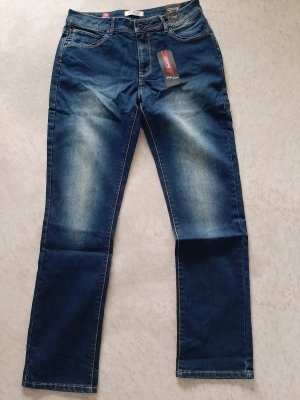 Million X Jeans bootcut bleu foncé