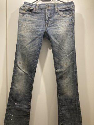 Denim & Supply Ralph Lauren Vaquero de corte bota azul