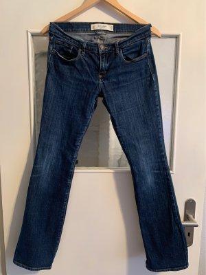 Abercrombie & Fitch Jeans svasati blu scuro-blu