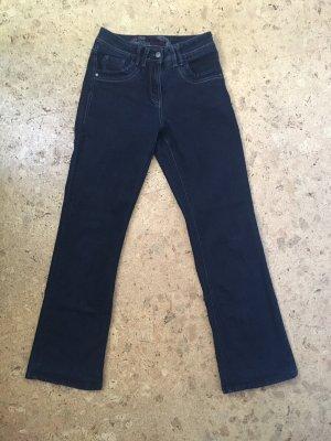 Cecil Jeans svasati blu scuro-nero