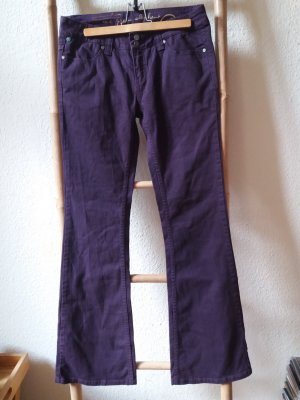 Oge & Co. Vaquero de corte bota lila