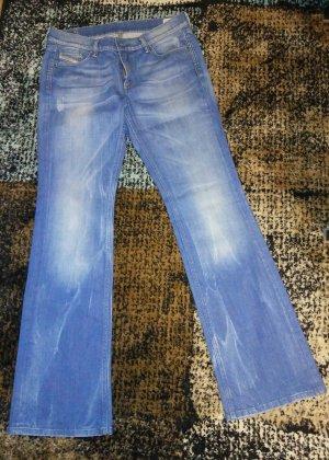 Diesel Boot Cut Jeans blue-cornflower blue
