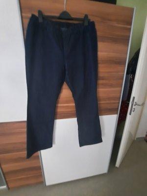 Jeansowe spodnie dzwony niebieski