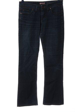 bootcut Jeans flare bleu style décontracté