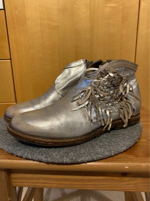 Air Step Laarsjes zilver