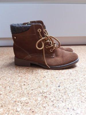 s.Oliver Bottillons brun sable-brun