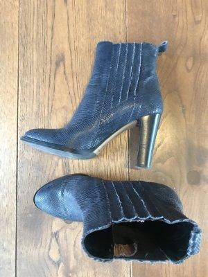 Bianca Di Slip-on laarzen donkerblauw