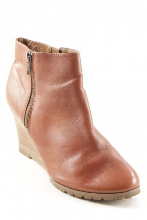 Booties cognac Casual-Look