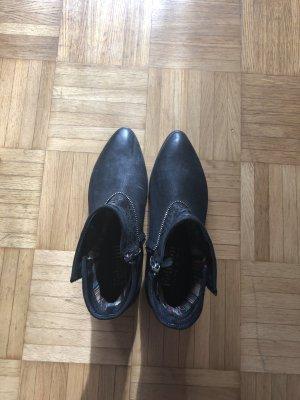 Booties in schwarz