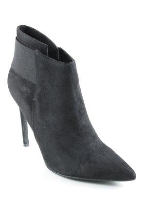 Booties schwarz Elegant
