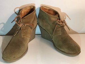 Akira Ankle Boots sand brown-camel suede