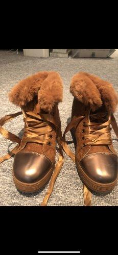 Bottes de neige brun