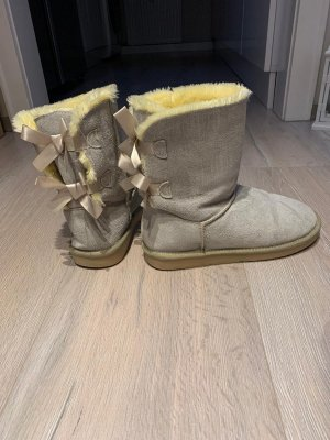 Snow Boots oatmeal leather