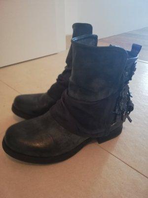 Short Boots dark blue