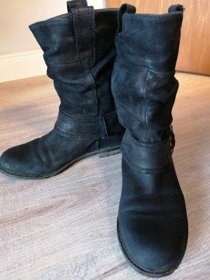 100 Low boot noir