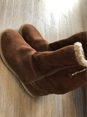 s.Oliver Desert Boots brown-cream