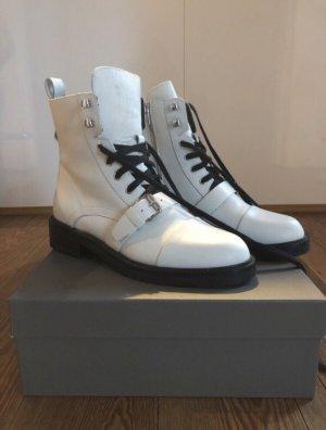 All Saints Chukka boot blanc-noir