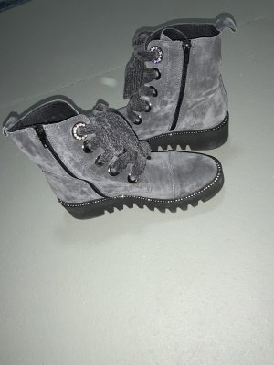Alpe Platform Boots light grey