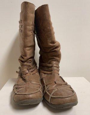 Sixtyseven Krótkie buty jasnobrązowy Skóra
