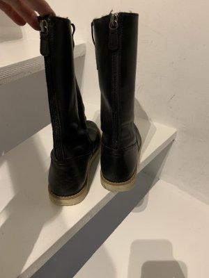 Zara Botas de nieve negro