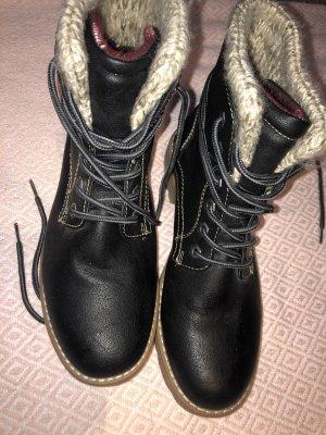 Tom Tailor Chukka boot noir