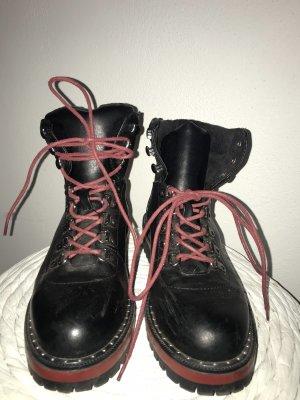 Asos Combat Boots black