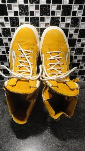 Giuseppe Zanotti Lace-Up Sneaker multicolored leather