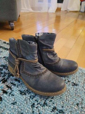 Rieker Ankle Boots slate-gray-blue