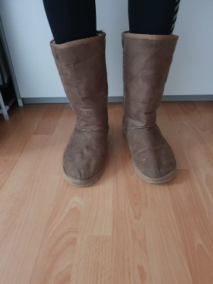 keine Fur Boots light brown