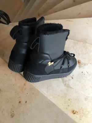 U.s. polo assn. Snow Boots black