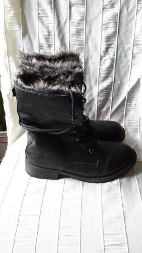 Tom Tailor Low boot noir-beige