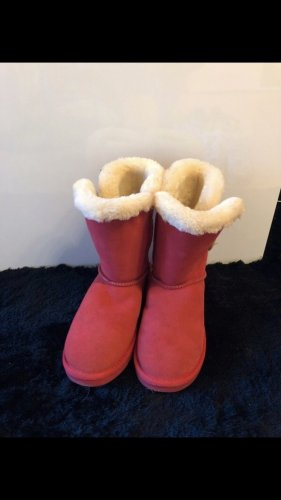 Sí Snow Boots red-white