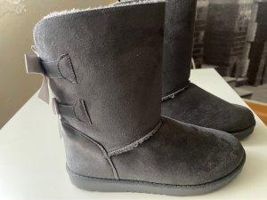 Bottes de neige gris