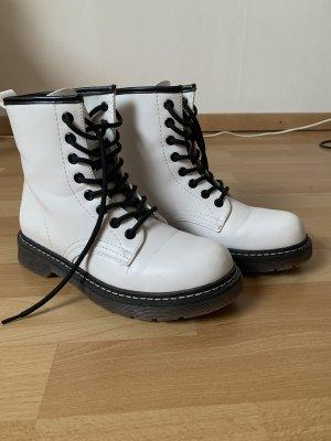 Buty śniegowe biały-czarny