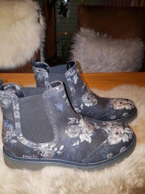 Catwalk Botines Chelsea negro-gris claro