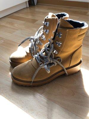 Boots beige Braun
