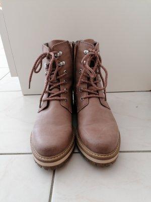 Tamaris Lace-up Boots light brown-beige