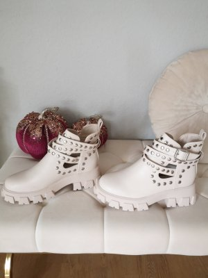 Asos Chelsea Boots natural white-oatmeal