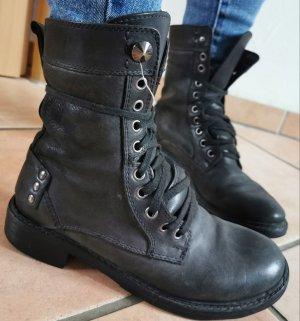 Boots/Biker/Leder