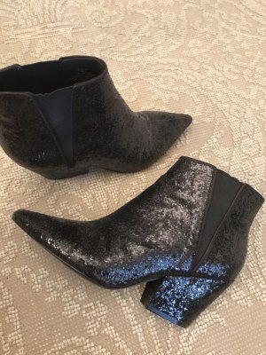 H&M Botas estilo vaquero negro