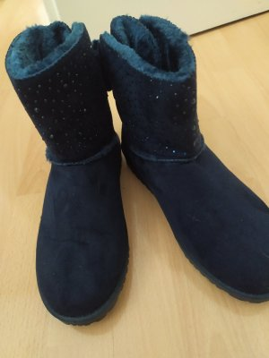 Amazon fashion Snow Boots dark blue