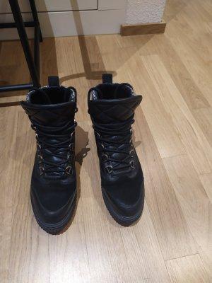 Claudie Pierlot Booties white-black leather