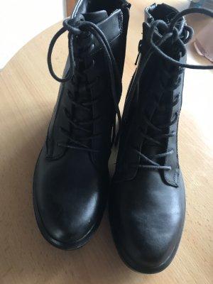 Dockers Chelsea laarzen zwart