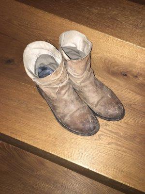 Buffalo Wciągane buty za kostkę jasnobrązowy
